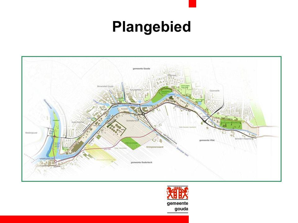 Aanpak Verdeling gebied in plangebied studiegebied Extern bureau landschapsarchitecten Brons en Partners