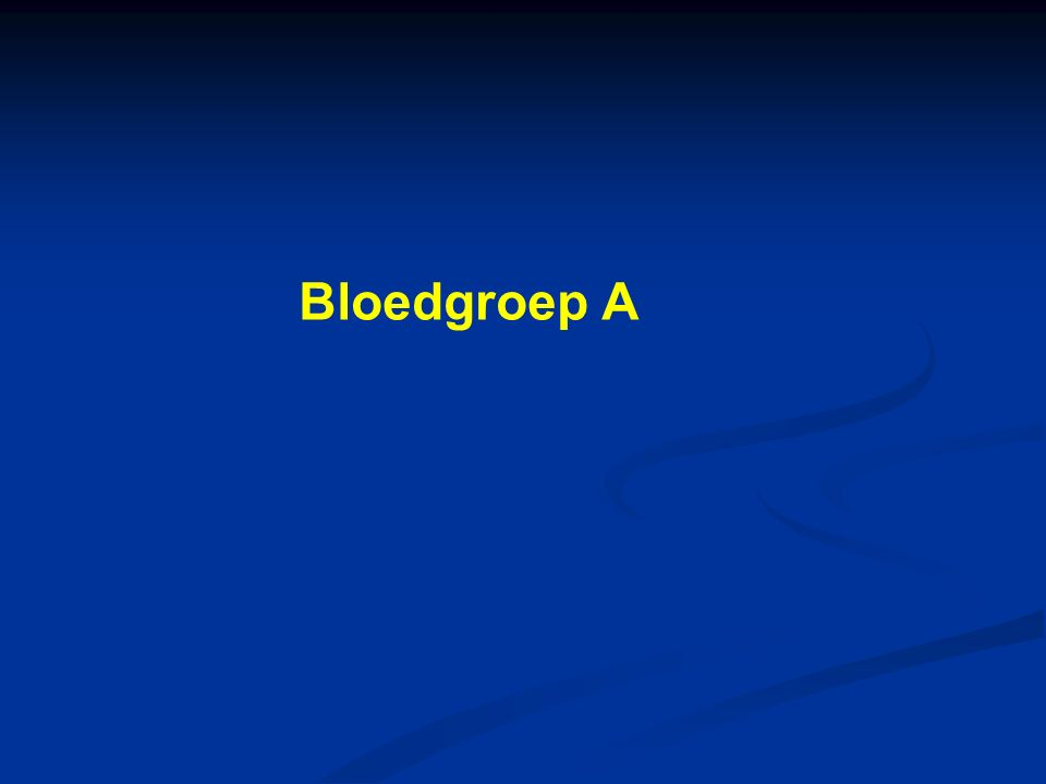 Bloedgroep A