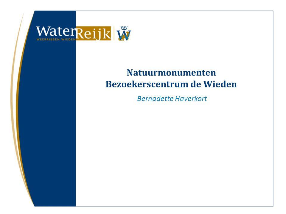 Natuurmonumenten Bezoekerscentrum de Wieden Bernadette Haverkort