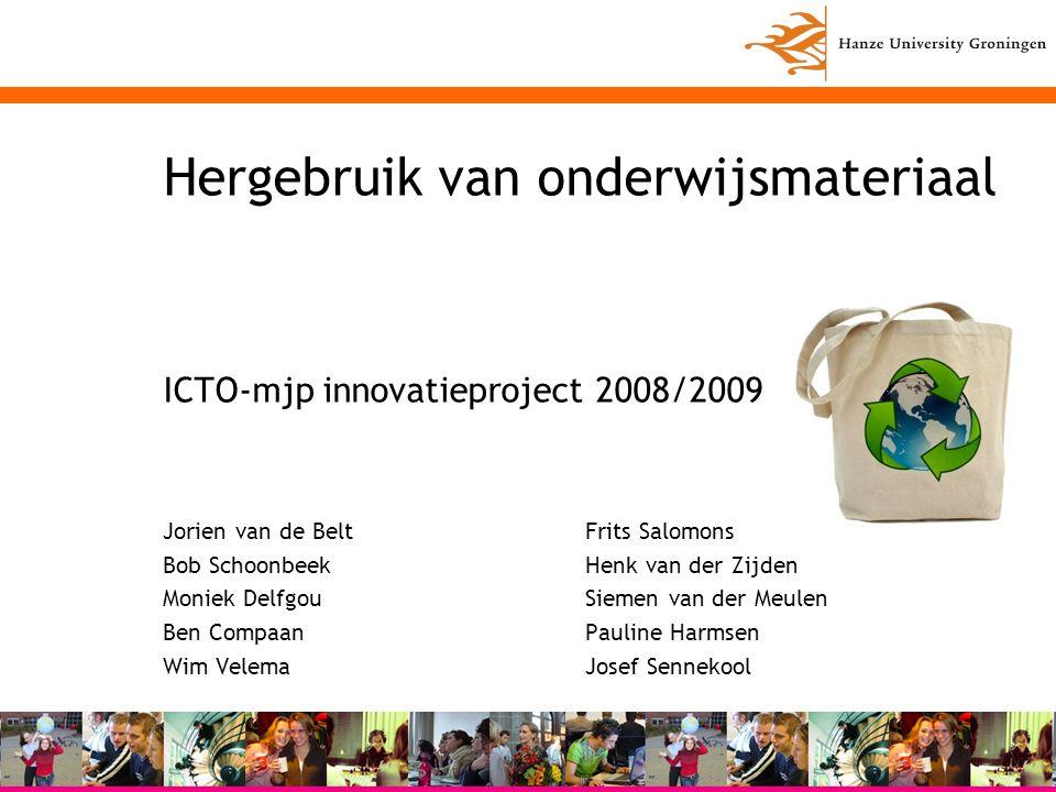 Copyright HG –rechten bij instelling –studentmateriaal: gebruiksrecht ook bij HG Copyleft (vrij gebruik) Creative Commons