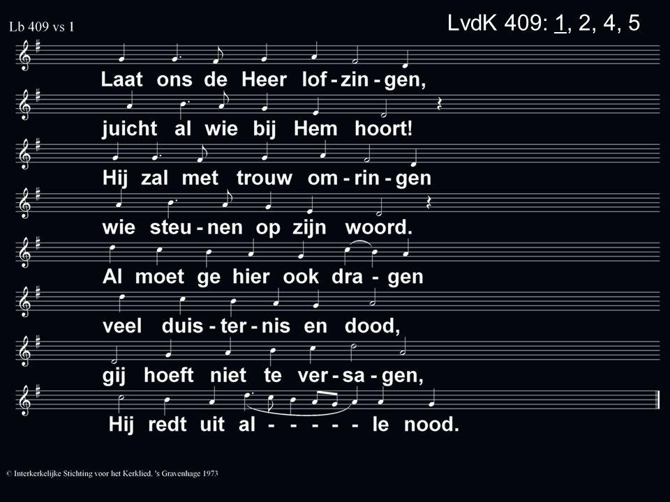 LvdK 409: 1, 2, 4, 5