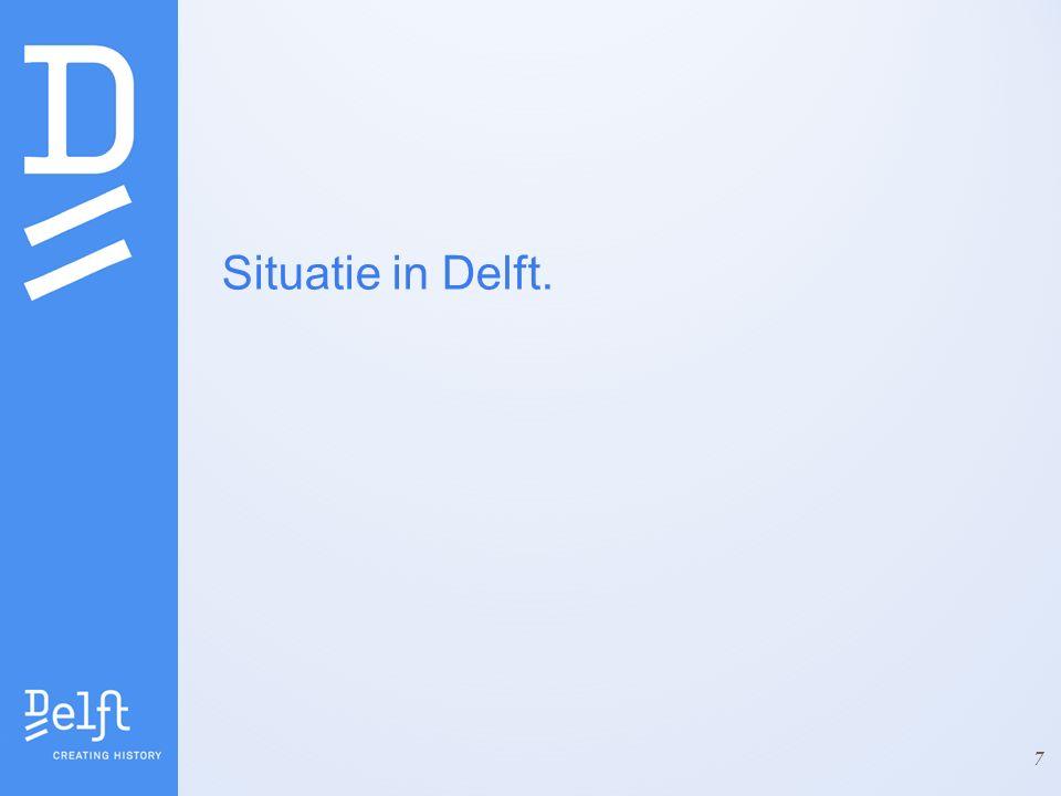 Situatie in Delft. 7
