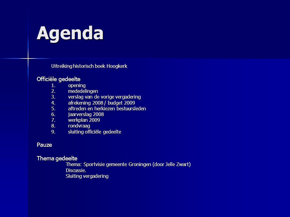Werkplan 2009