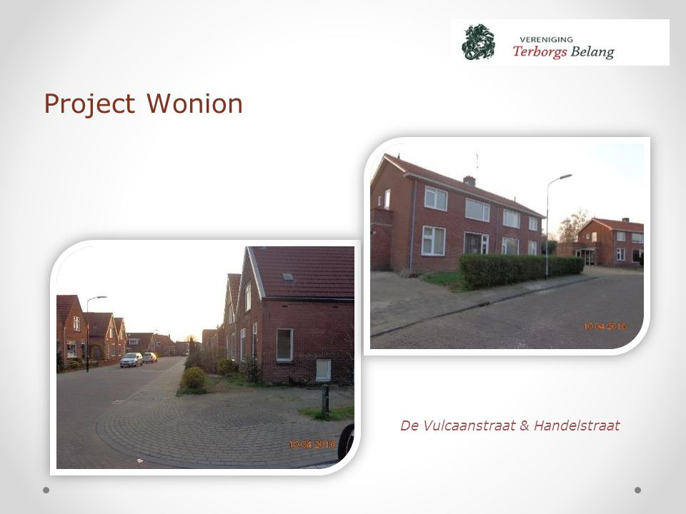 Project Wonion De Vulcaanstraat & Handelstraat