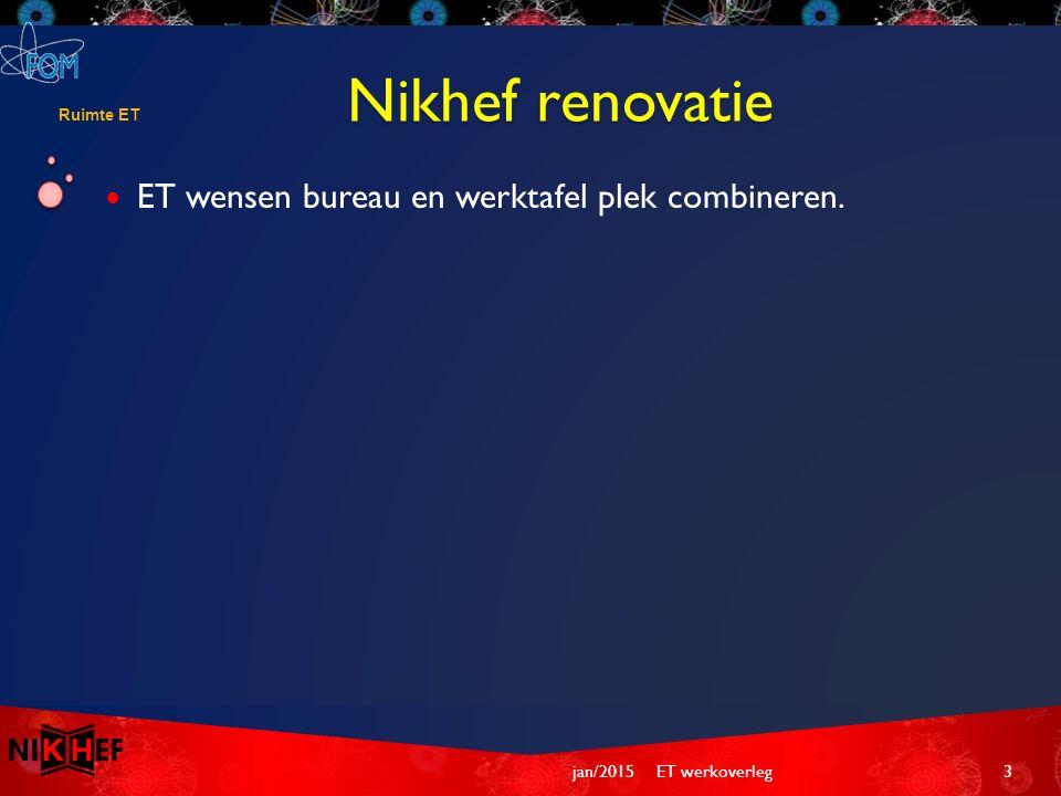 Jan-Willem  Nikhef preventie mederwerker Laser gebruik.