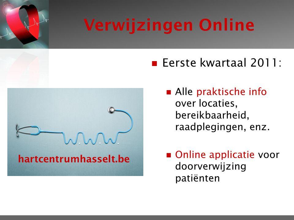 Verwijzingen Online Eerste kwartaal 2011: Alle praktische info over locaties, bereikbaarheid, raadplegingen, enz.