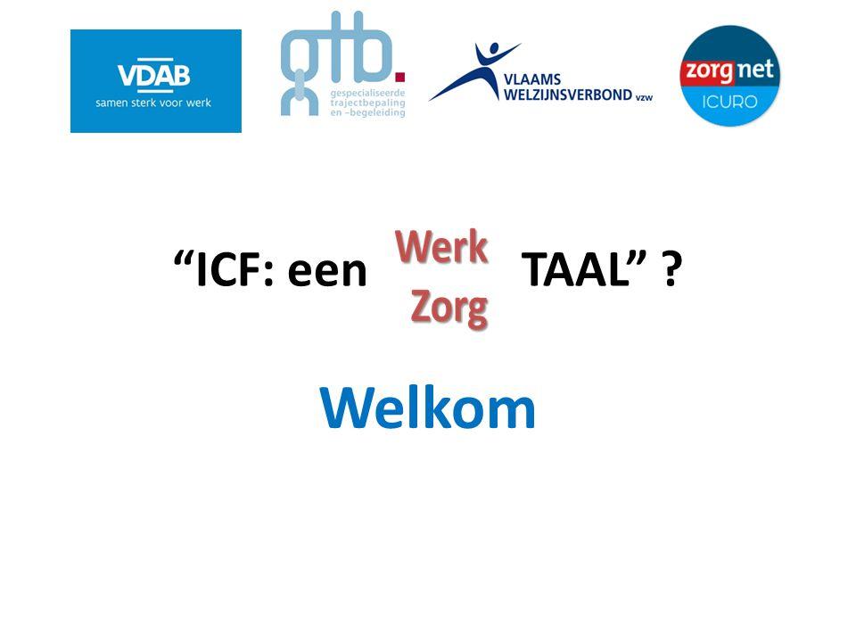 ICF: een TAAL Welkom
