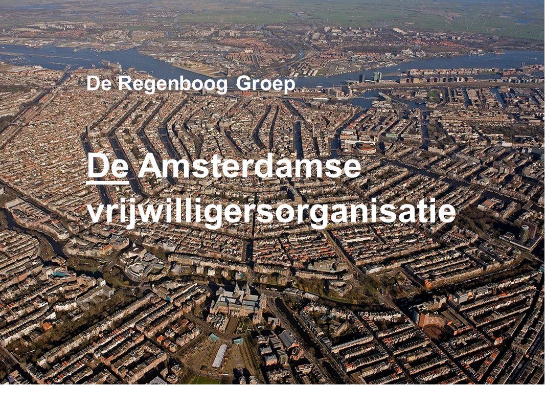 De Amsterdamse vrijwilligersorganisatie De Regenboog Groep