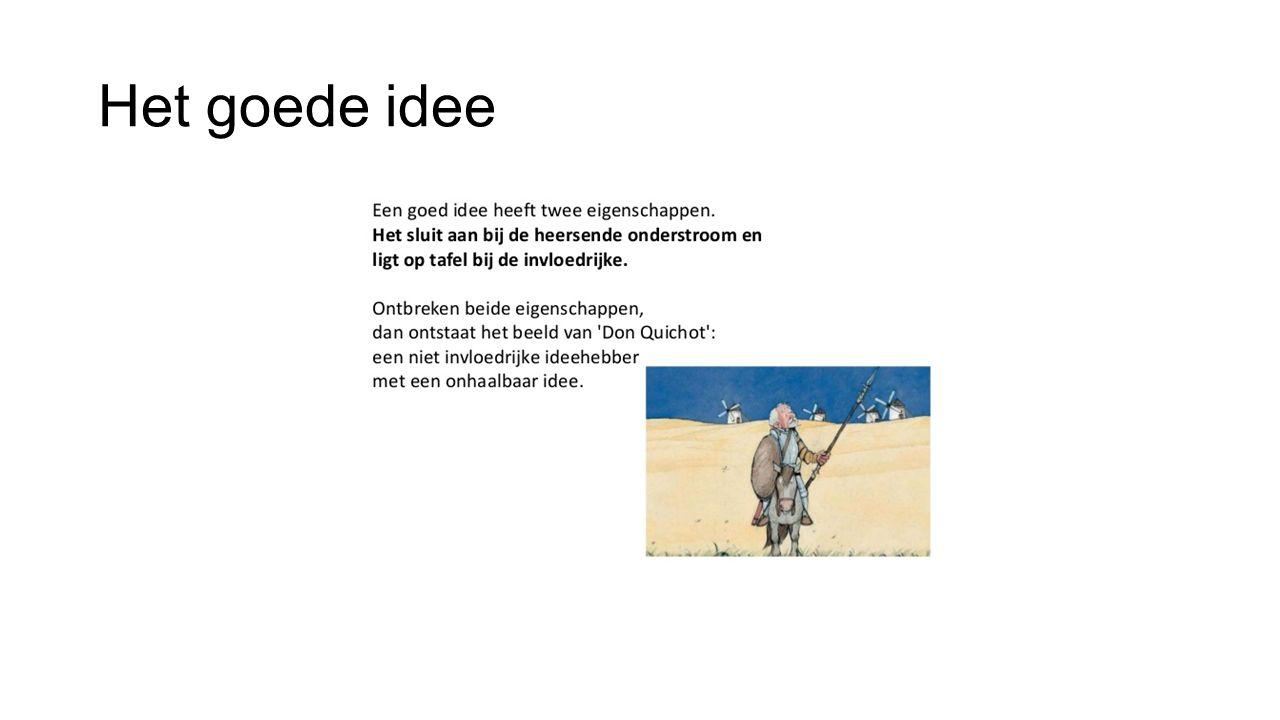 Het goede idee