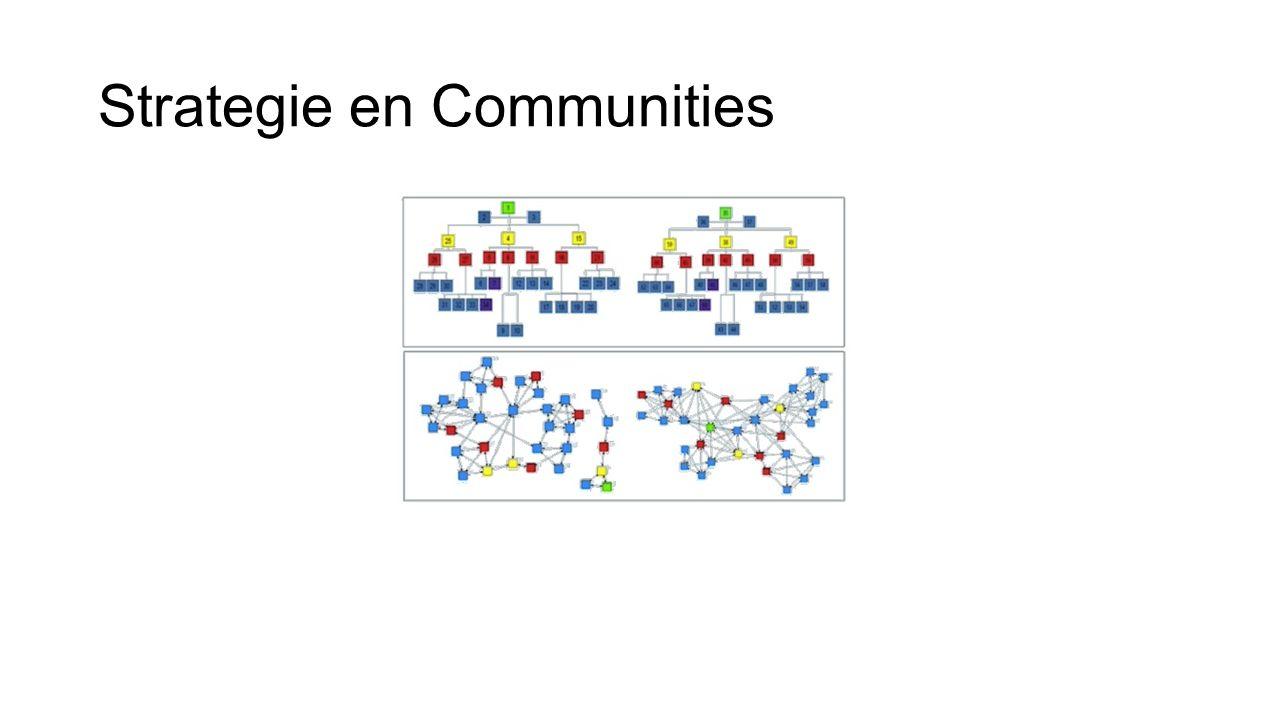 Strategie en Communities