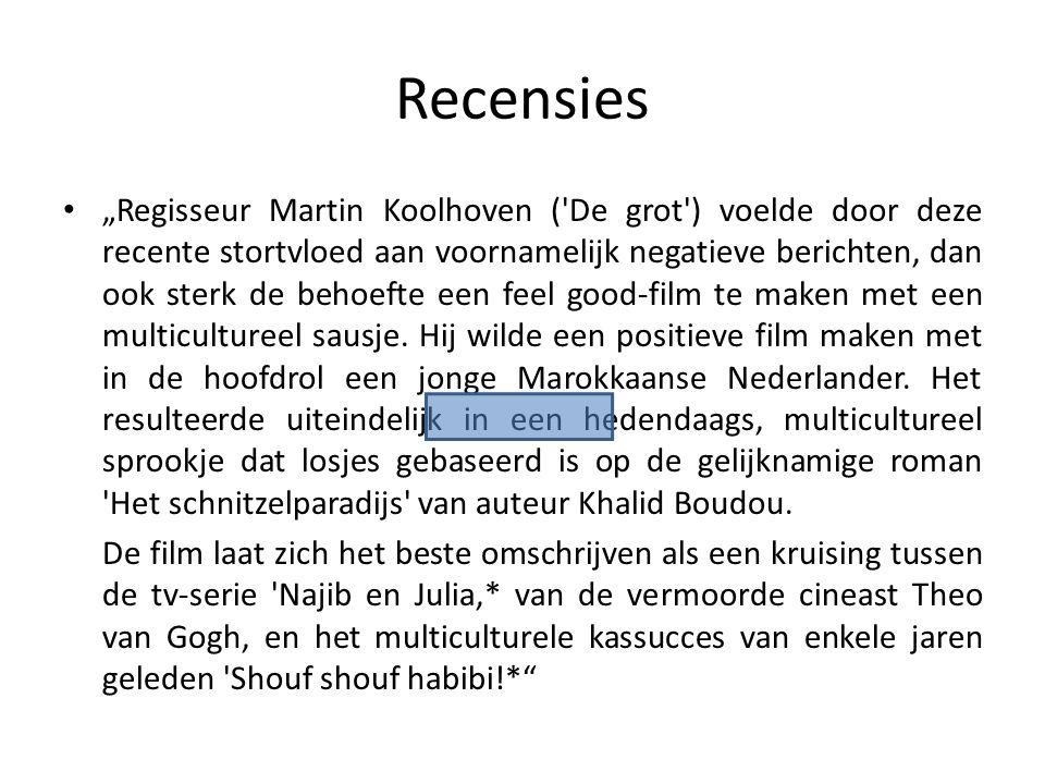 *Opmerkingen: Shouf shouf habibi!(2004) Najib en Julia (2002)