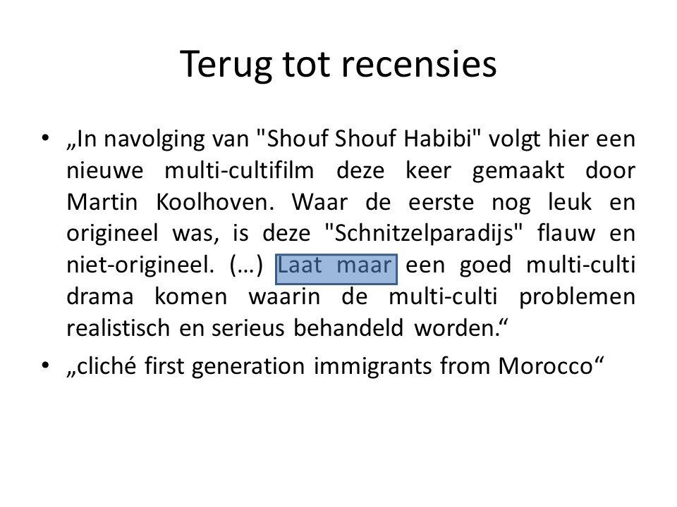 """Recensies """"Marokkanen zijn lui, Turken dom, Hollanders gierig en Joegoslaven gevaarlijke gekken."""