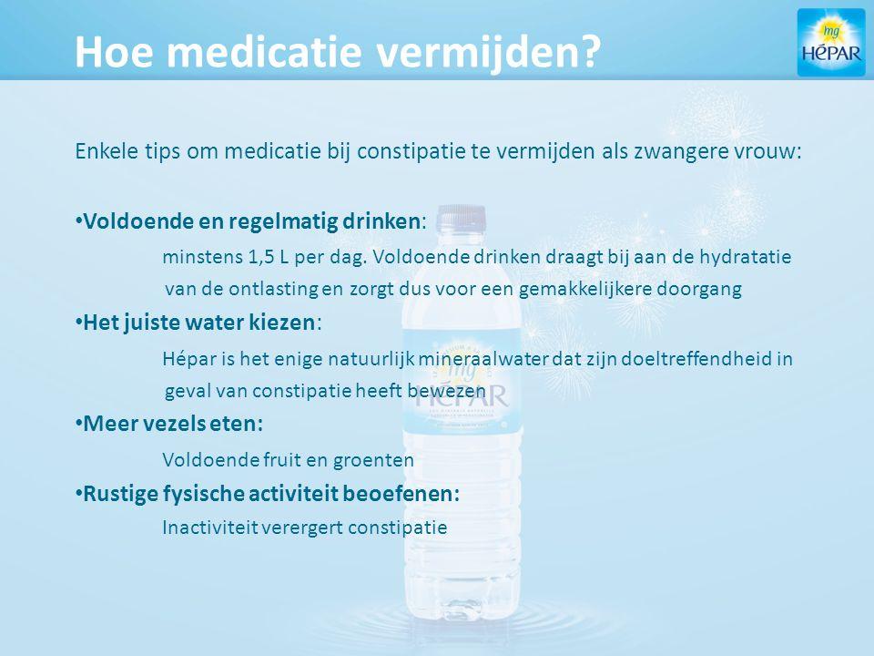 Hoe medicatie vermijden.