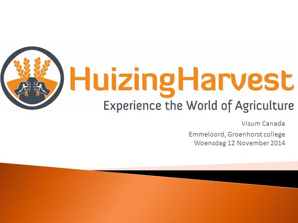 Doelstelling: HuizingHarvest wil door middel van kennisuitwisseling meerwaarde bieden in de (internationale) agrarische sector