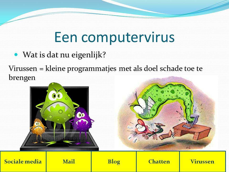 Een computervirus Wat is dat nu eigenlijk.