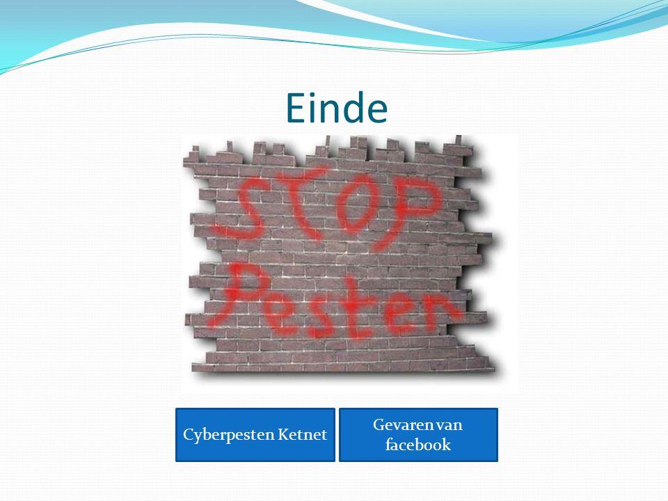Einde Cyberpesten Ketnet Gevaren van facebook