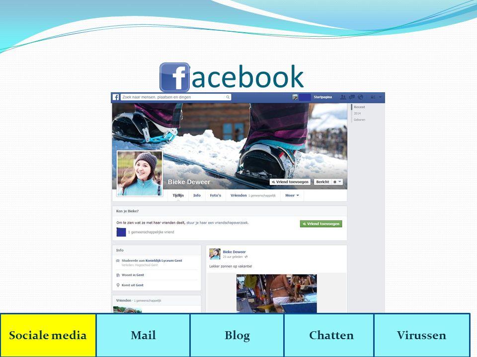 Blog Blog = Een persoonlijk dagboek op het internet.