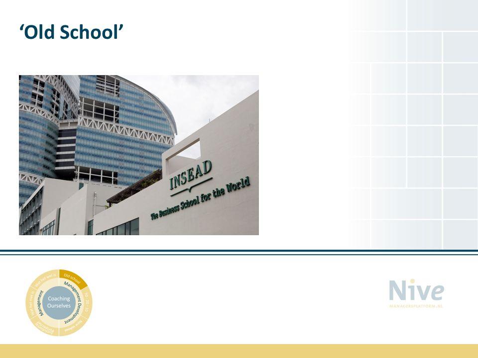 'Old School'
