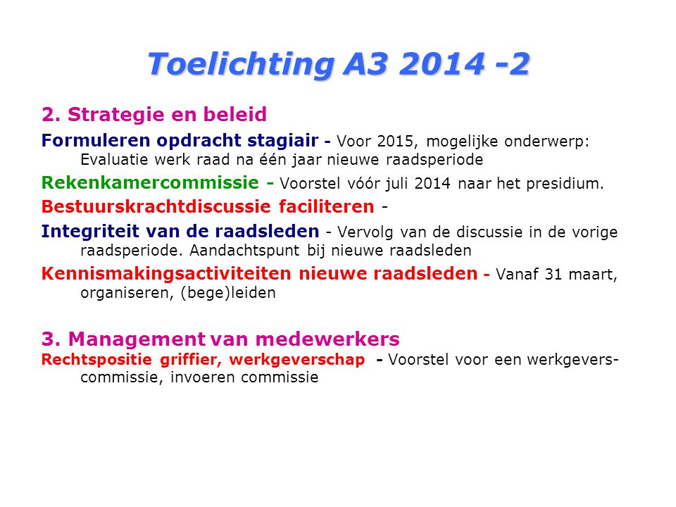 Toelichting A3 2014 -3 4.