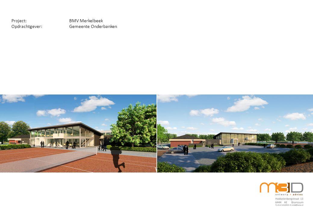 Project:RKSV Olympia Schinveld Ontwerp Opdrachtgever:Gemeente Onderbanken