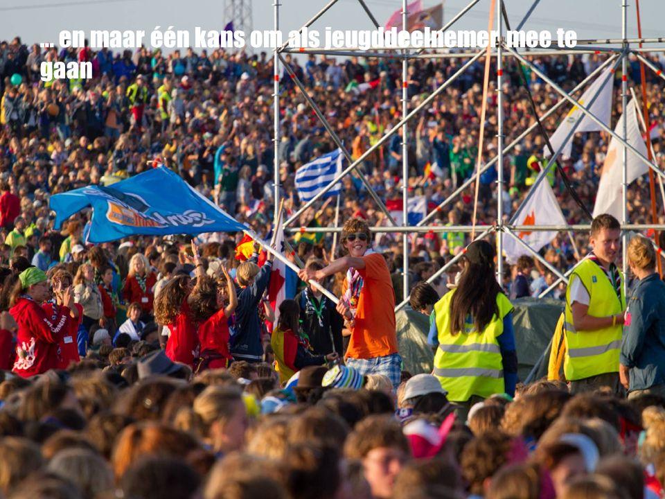 Wat is een Wereld Jamboree? Beelden zeggen meer…