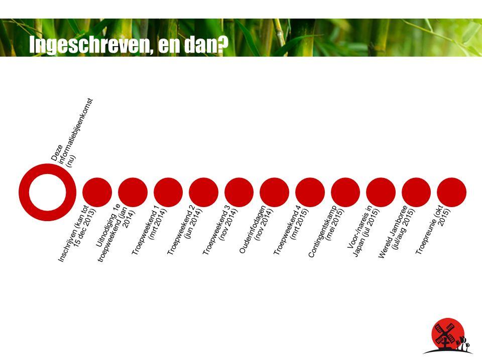 Meer weten? wj.scouting.nl info@wj.scouting.nl facebook.com/wereldjamboree @wereldjamboree
