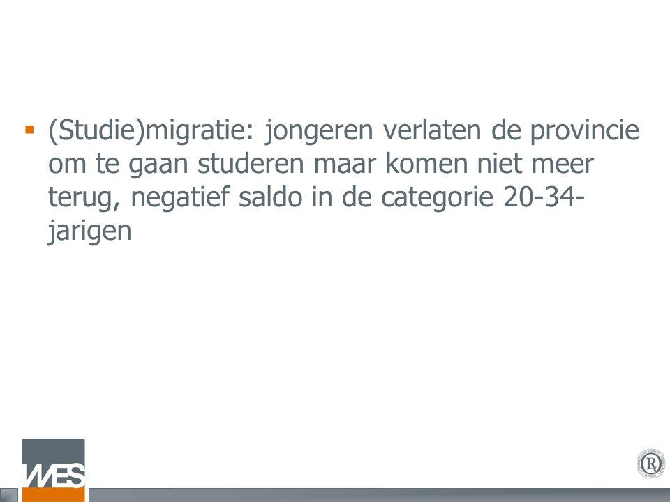  Participatie in onderzoek: zeer beperkt: 1,4% van de in Vlaanderen beschikbare middelen voor onderzoek wordt ingezet in West-Vlaanderen