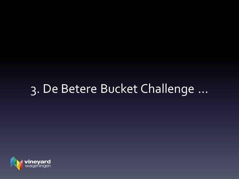 3. De Betere Bucket Challenge …
