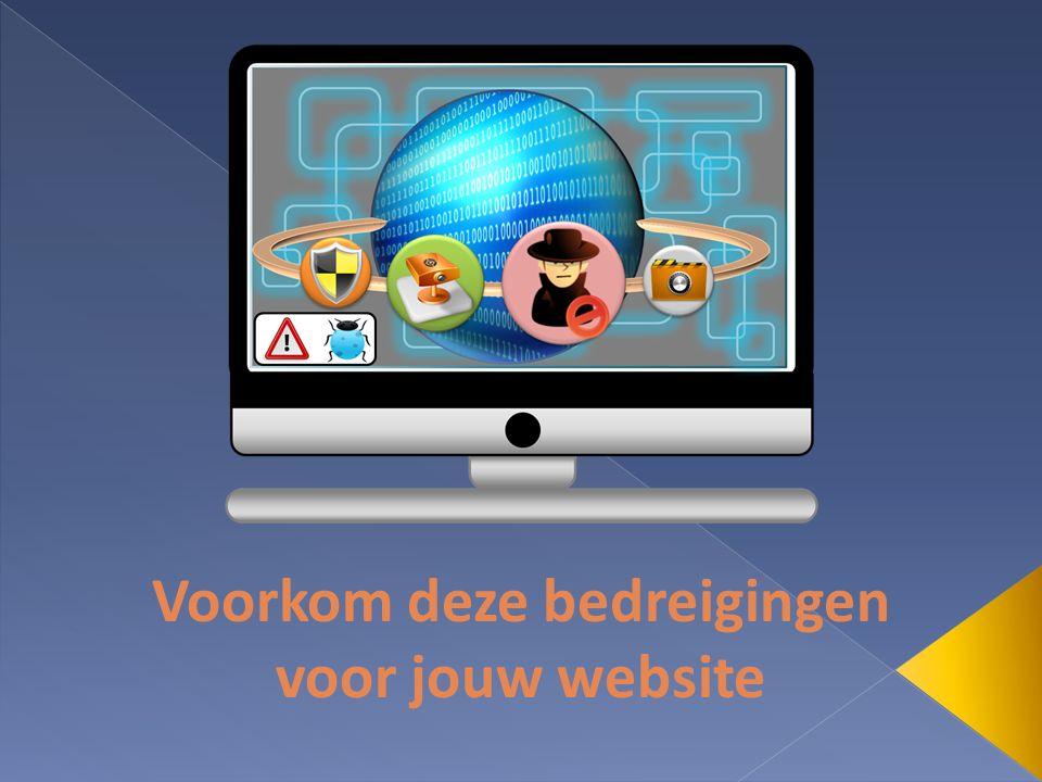 Voorkom deze bedreigingen voor jouw website