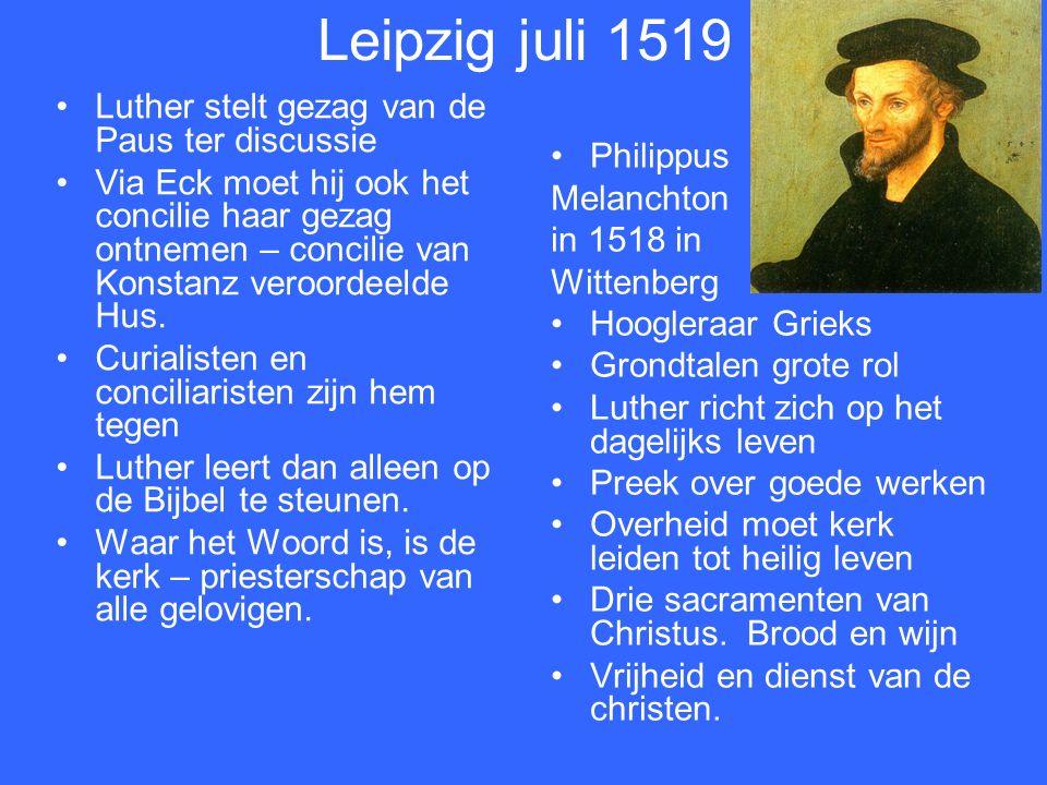 Dominicaan Martin Bucer 1491 -1551 ziet het. Dominicaan Johan Eck 1486-1543 verwerpt het.