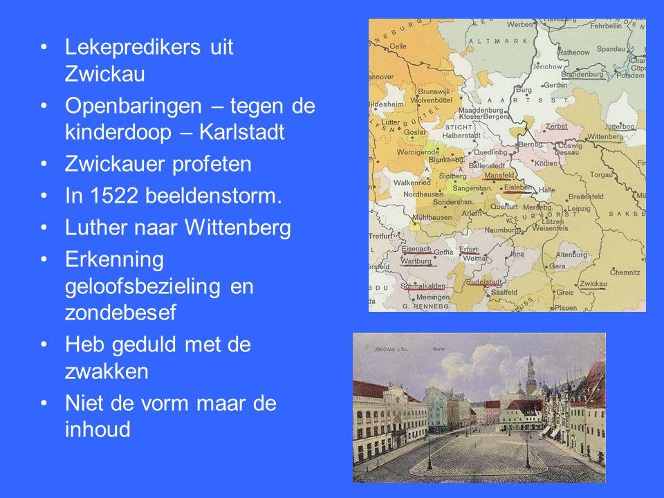 1521 Worms 15 juni 1520 reeds 41 uitspraken van Luther verworpen Eck brengt de bul 10 dec 1520 verbrandt Luther deze bul + wetboek 3 januari 1521 – ban 1521 Worms Karel V 26 mei in de rijksban Luther reeds op de Wartburg 12 weken N.T.