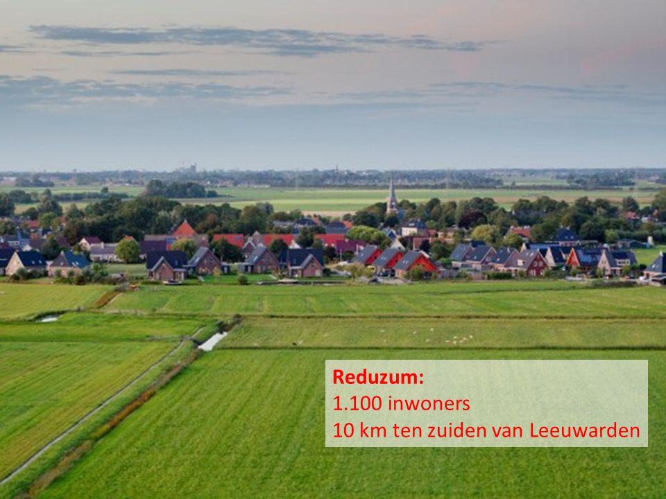 Reduzum Reduzum: 1.100 inwoners 10 km ten zuiden van Leeuwarden