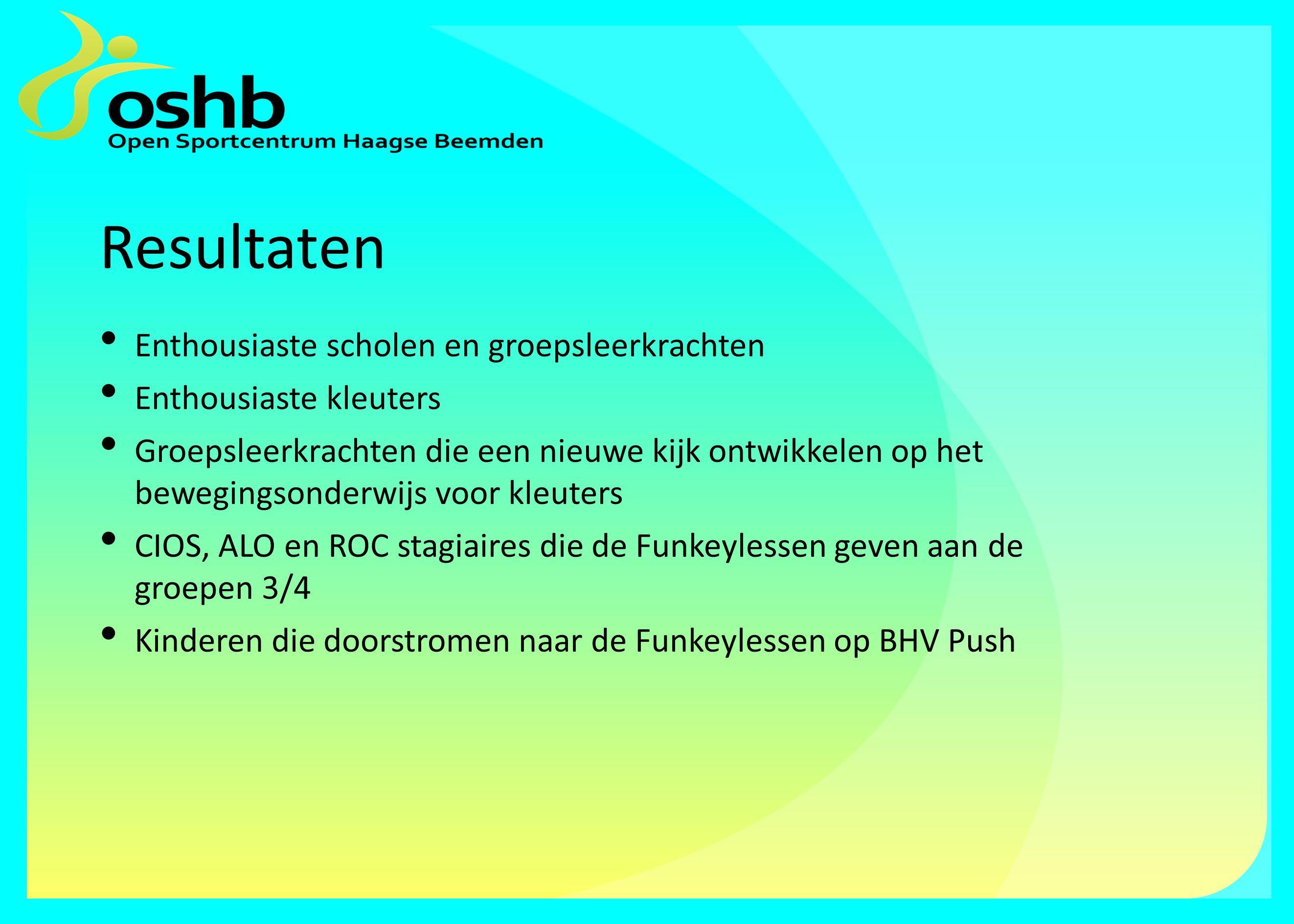 De toekomst van Funkey in de Haagse Beemden Alle kleuters van de negen basisscholen in de wijk hebben in het jaar 2012-2013 kennis gemaakt met Funkey.