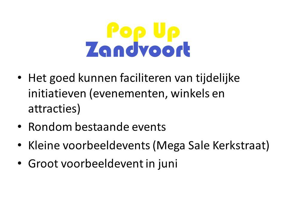 Uitnodigingen Flyer rondgebracht bij alle ondernemers in gebied Verstuurd aan alle vastgoedeigenaren in gebied Verspreiding ondernemersverenigingen bij achterban Mails aan alle ondernemers in Zandvoort Advertenties in Zandvoortse Courant (3x) Facebook (Ondernemersloket) ZFM