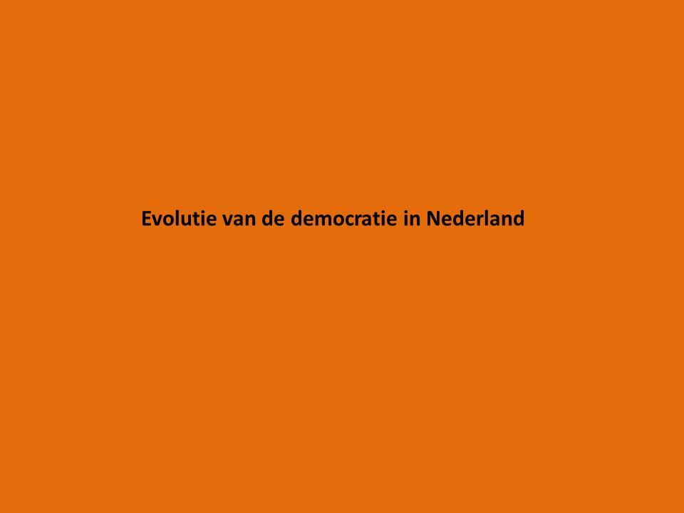 Evolutie van de democratie in Nederland