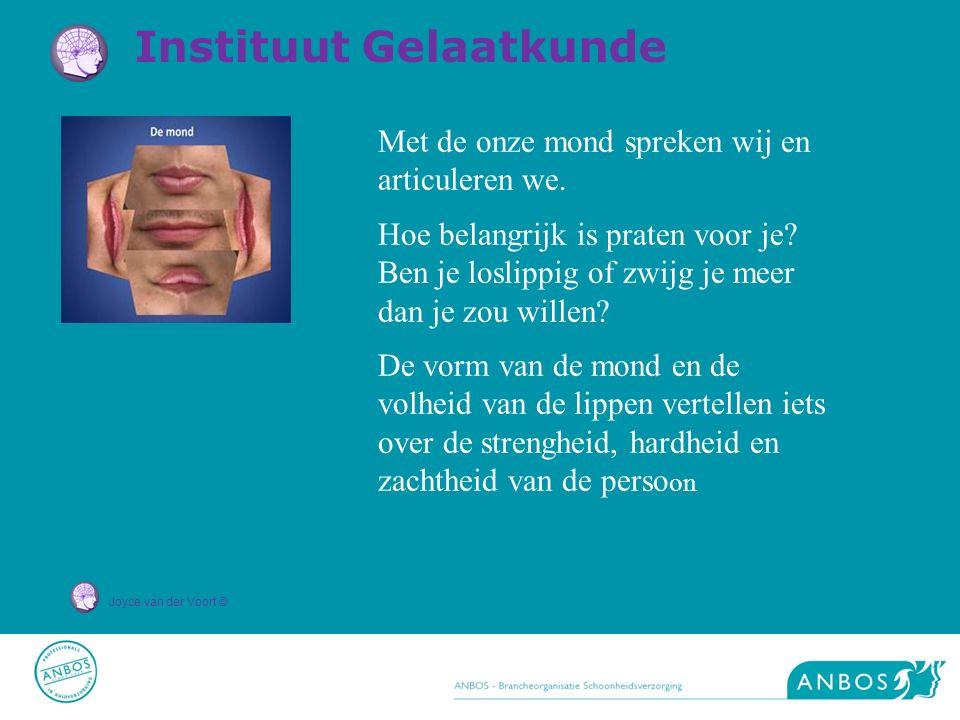 Joyce van der Voort © Met de onze mond spreken wij en articuleren we.
