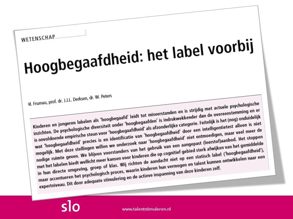 www.talentstimuleren.nl