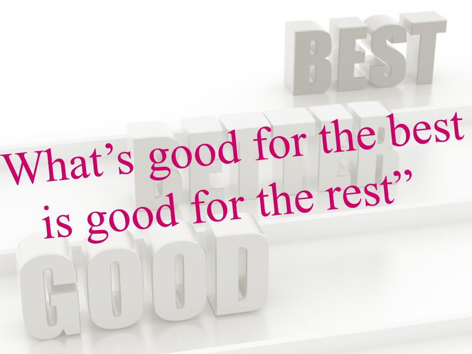 www.talentstimuleren.nl What's good for the best is good for the rest
