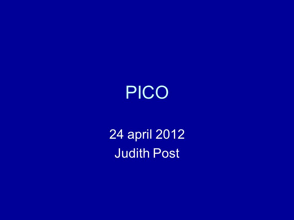 PICO 24 april 2012 Judith Post