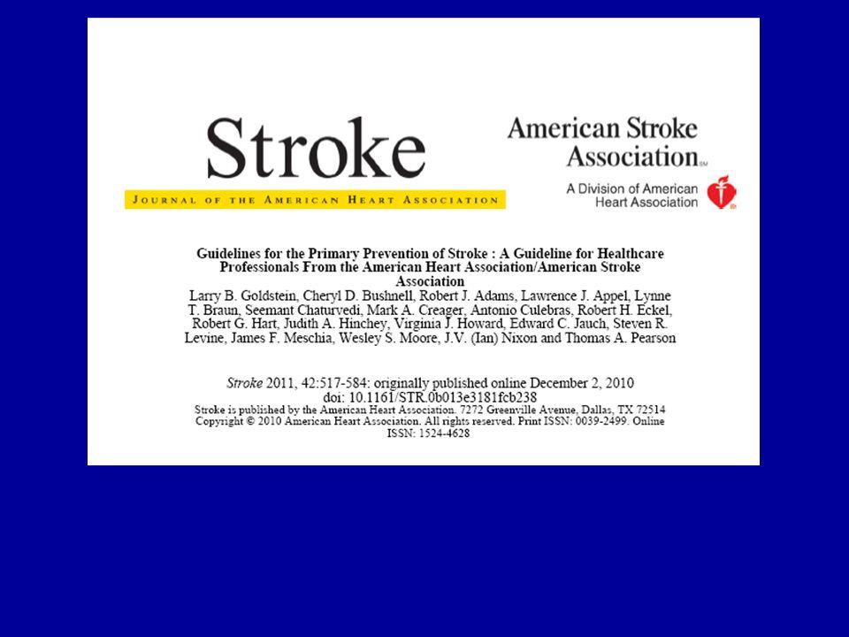 Women at risk of stroke met OAC Leeftijd Roken Hypertensie Migraine RATIO additionele RF: –Obesitas –HC –Factor V leiden