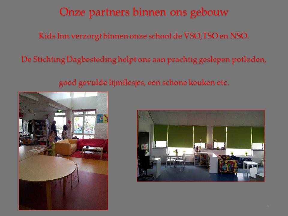 Onze partners binnen ons gebouw Kids Inn verzorgt binnen onze school de VSO,TSO en NSO.