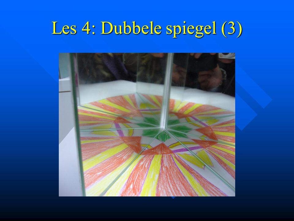 Les 4: Dubbele spiegel (3)
