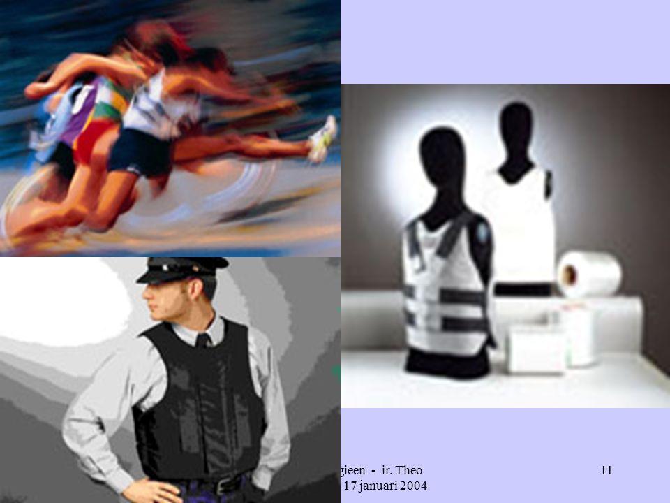 Nieuwe technologieen - ir. Theo Bougie - ISPO - 17 januari 2004 11