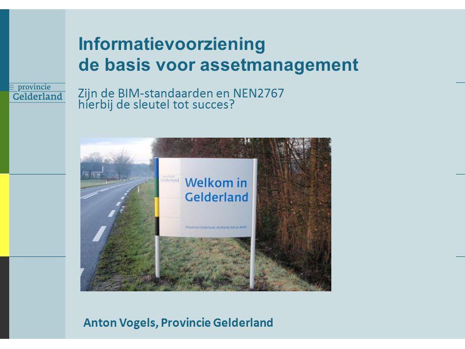 Operationeel Onderhoudsconcept Blauwdruk 'hoe wil ik met een object omgaan' Assetmanagement – Hoe gaan we er mee om.