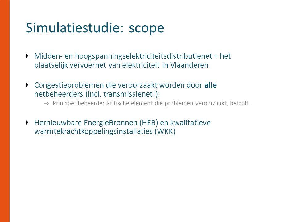 Midden- en hoogspanningselektriciteitsdistributienet + het plaatselijk vervoernet van elektriciteit in Vlaanderen Congestieproblemen die veroorzaakt worden door alle netbeheerders (incl.