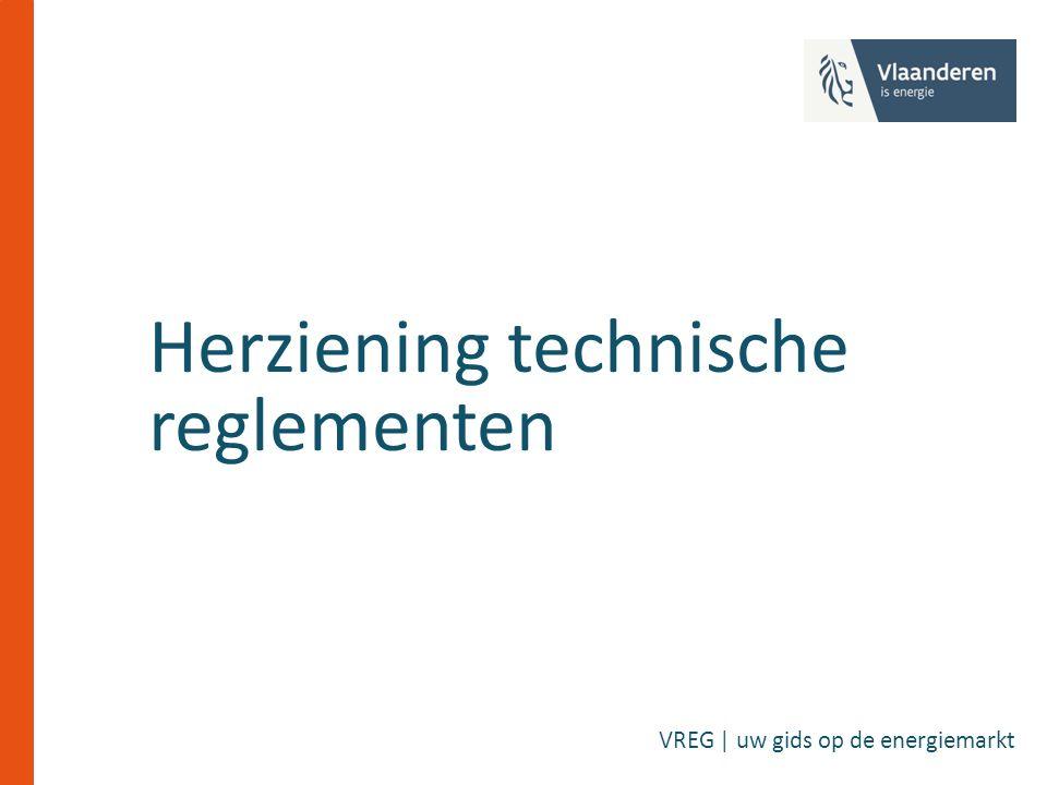 Herziening technische reglementen VREG | uw gids op de energiemarkt