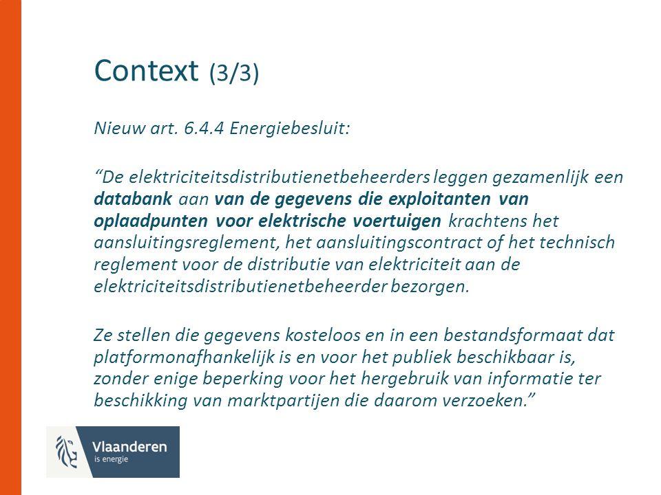 Context (3/3) Nieuw art.