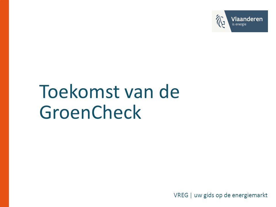 Toekomst van de GroenCheck VREG | uw gids op de energiemarkt
