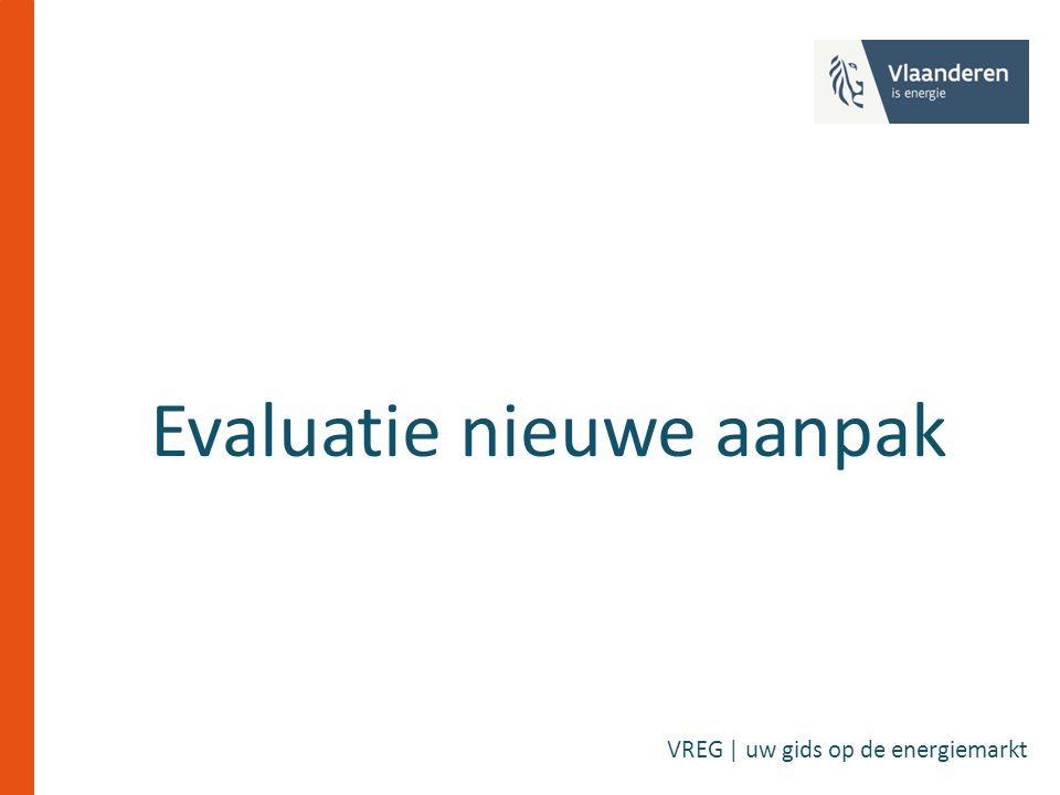 Evaluatie nieuwe aanpak VREG | uw gids op de energiemarkt
