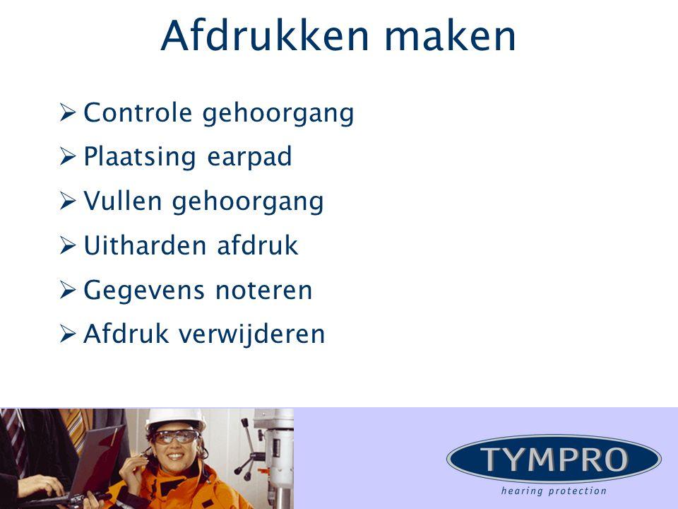 Productie van Tympro